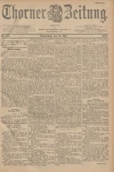 Thorner Zeitung : Begründet 1760. 1901, Nr. 114 (16 Mai) - Erstes Blatt