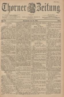 Thorner Zeitung : Begründet 1760. 1901, Nr. 115 (18 Mai) - Erstes Blatt