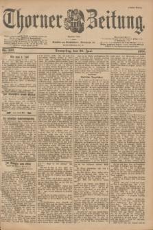 Thorner Zeitung : Begründet 1760. 1901, Nr. 142 (20 Juni) - Erstes Blatt