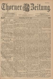Thorner Zeitung : Begründet 1760. 1901, Nr. 148 (27 Juni) - Erstes Blatt