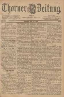 Thorner Zeitung : Begründet 1760. 1901, Nr. 151 (30 Juni) - Erstes Blatt