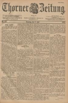 Thorner Zeitung : Begründet 1760. 1901, Nr. 157 (7 Juli) - Erstes Blatt