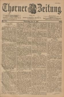 Thorner Zeitung : Begründet 1760. 1901, Nr. 160 (11 Juli) - Erstes Blatt