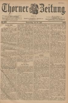 Thorner Zeitung : Begründet 1760. 1901, Nr. 166 (18 Juli) - Erstes Blatt
