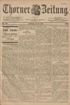 Thorner Zeitung : Begründet 1760. 1901, Nr. 169 (21 Juli) - Erstes Blatt