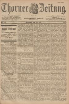 Thorner Zeitung : Begründet 1760. 1901, Nr. 171 (24 Juli) - Erstes Blatt