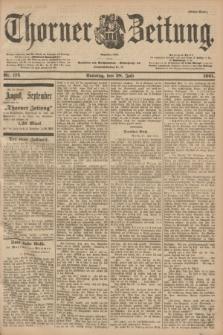 Thorner Zeitung : Begründet 1760. 1901, Nr. 175 (28 Juli) - Erstes Blatt