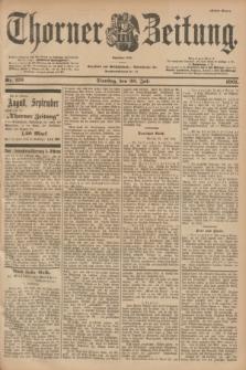 Thorner Zeitung : Begründet 1760. 1901, Nr. 176 (30 Juli) - Erstes Blatt