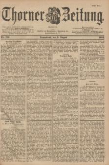 Thorner Zeitung : Begründet 1760. 1901, Nr. 180 (3 August) - Erstes Blatt
