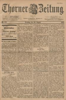 Thorner Zeitung : Begründet 1760. 1901, Nr. 194 (20 August) - Erstes Blatt