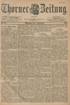 Thorner Zeitung : Begründet 1760. 1901, Nr. 207 (4 September) - Erstes Blatt