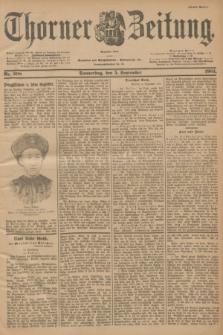 Thorner Zeitung : Begründet 1760. 1901, Nr. 208 (5 September) - Erstes Blatt