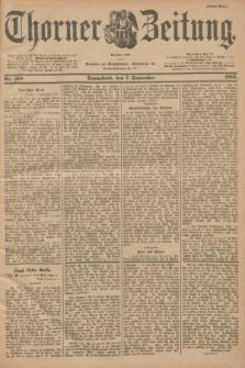 Thorner Zeitung : Begründet 1760. 1901, Nr. 210 (7 September) - Erstes Blatt