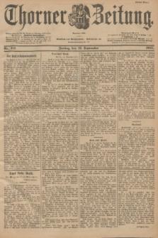 Thorner Zeitung : Begründet 1760. 1901, Nr. 215 (13 September) - Erstes Blatt