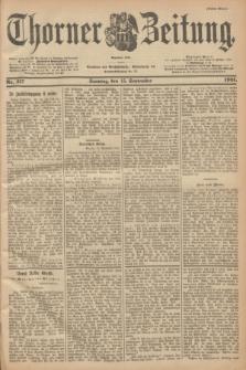 Thorner Zeitung : Begründet 1760. 1901, Nr. 217 (15 September) - Erstes Blatt