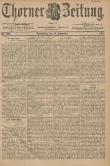 Thorner Zeitung : Begründet 1760. 1901, Nr. 220 (19 September) - Erstes Blatt