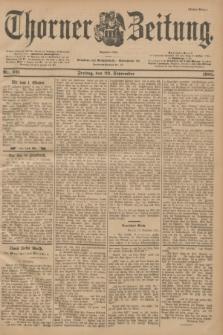 Thorner Zeitung : Begründet 1760. 1901, Nr. 221 (20 September) - Erstes Blatt
