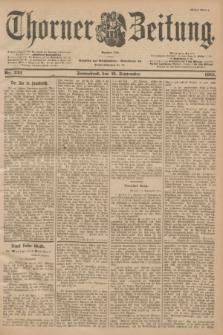 Thorner Zeitung : Begründet 1760. 1901, Nr. 222 (21 September) - Erstes Blatt