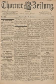 Thorner Zeitung : Begründet 1760. 1901, Nr. 226 (26 September) - Erstes Blatt