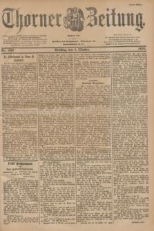 Thorner Zeitung : Begründet 1760. 1901, Nr. 230 (1 Oktober) - Erstes Blatt
