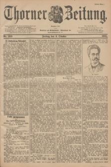 Thorner Zeitung : Begründet 1760. 1901, Nr. 233 (4 Oktober) - Erstes Blatt