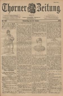 Thorner Zeitung : Begründet 1760. 1901, Nr. 238 (10 Oktober) - Erstes Blatt