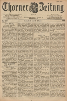 Thorner Zeitung : Begründet 1760. 1901, Nr. 240 (12 Oktober) - Erstes Blatt