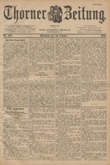 Thorner Zeitung : Begründet 1760. 1901, Nr. 243 (16 Oktober) - Erstes Blatt