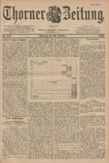 Thorner Zeitung : Begründet 1760. 1901, Nr. 247 (20 Oktober) - Erstes Blatt