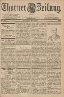 Thorner Zeitung : Begründet 1760. 1901, Nr. 251 (25 Oktober) - Erstes Blatt