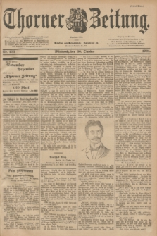 Thorner Zeitung : Begründet 1760. 1901, Nr. 255 (30 Oktober) - Erstes Blatt