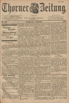Thorner Zeitung : Begründet 1760. 1901, Nr. 257 (1 November) - Erstes Blatt