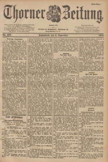 Thorner Zeitung : Begründet 1760. 1901, Nr. 258 (2 November) - Erstes Blatt