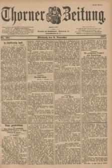 Thorner Zeitung : Begründet 1760. 1901, Nr. 261 (6 November) - Erstes Blatt