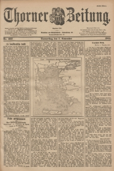 Thorner Zeitung : Begründet 1760. 1901, Nr. 262 (7 November) - Erstes Blatt