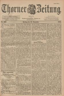 Thorner Zeitung : Begründet 1760. 1901, Nr. 269 (15 November) - Erstes Blatt