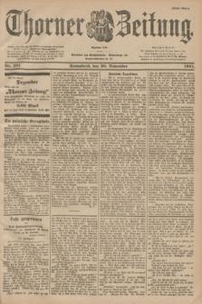 Thorner Zeitung : Begründet 1760. 1901, Nr. 281 (30 November) - Erstes Blatt