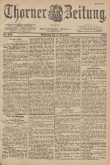 Thorner Zeitung : Begründet 1760. 1901, Nr. 284 (4 Dezember) - Erstes Blatt