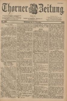 Thorner Zeitung : Begründet 1760. 1901, Nr. 290 (11 Dezember) - Erstes Blatt