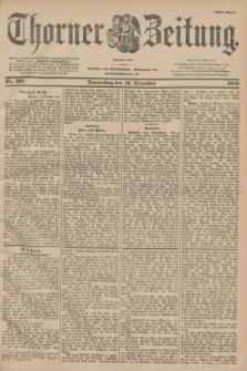 Thorner Zeitung : Begründet 1760. 1901, Nr. 291 (12 Dezember) - Erstes Blatt