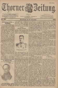 Thorner Zeitung : Begründet 1760. 1901, Nr. 293 (14 Dezember) - Erstes Blatt