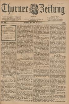 Thorner Zeitung : Begründet 1760. 1901, Nr. 301 (24 Dezember) - Erstes Blatt