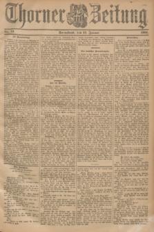 Thorner Zeitung. 1901, Nr. 10 (12 Januar) - Zweites Blatt