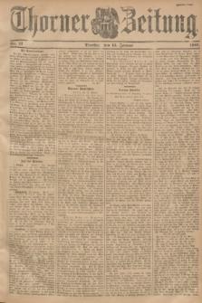 Thorner Zeitung. 1901, Nr. 12 (15 Januar) - Zweites Blatt
