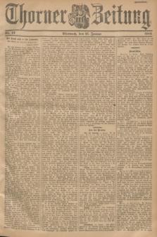 Thorner Zeitung. 1901, Nr. 13 (16 Januar) - Zweites Blatt