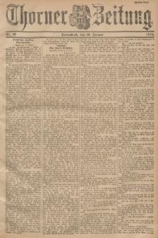 Thorner Zeitung. 1901, Nr. 16 (19 Januar) - Zweites Blatt