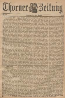Thorner Zeitung. 1901, Nr. 17 (20 Januar) - Zweites Blatt
