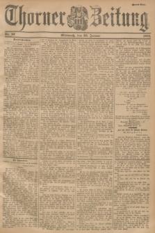 Thorner Zeitung. 1901, Nr. 19 (23 Januar) - Zweites Blatt