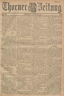 Thorner Zeitung. 1901, Nr. 22 (26 Januar) - Zweites Blatt