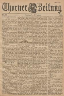 Thorner Zeitung. 1901, Nr. 23 (27 Januar) - Zweites Blatt